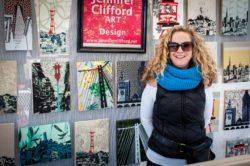 Jennifer Clifford Art and Design at Renaissance Makers Pop Up