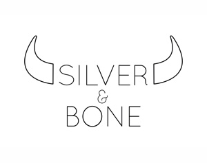 silver and bone logo